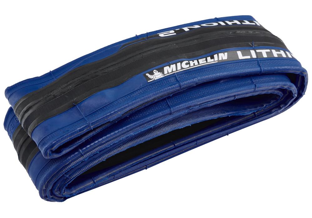 michelin lithion 2 fahrradreifen 28 zoll blau g nstig. Black Bedroom Furniture Sets. Home Design Ideas
